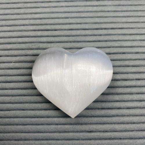 Selenite hearts (large)