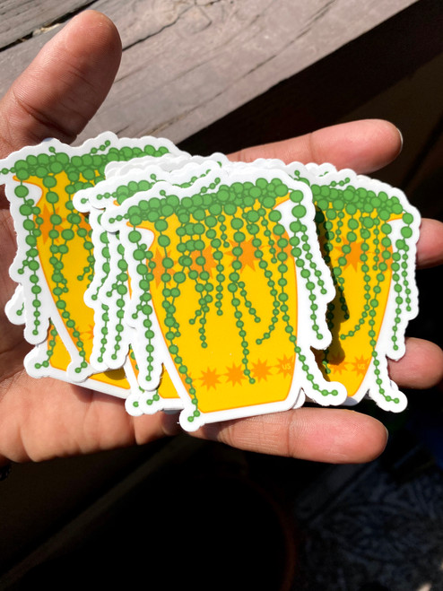 String of Pearls sticker