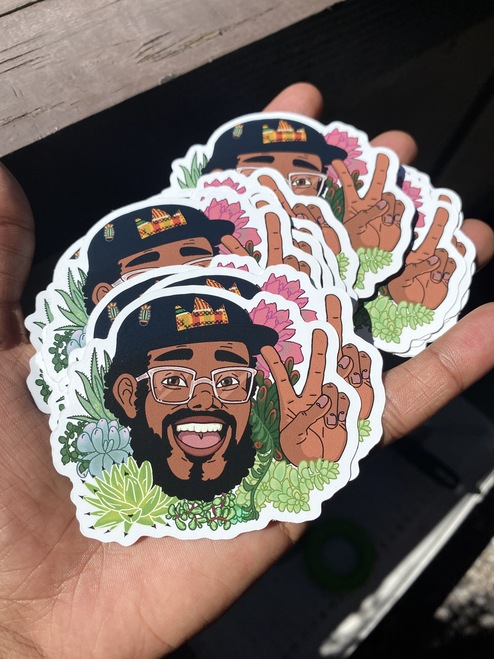 James from US stickers