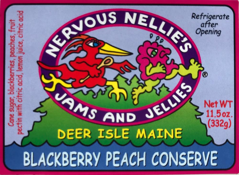 Blackberry Peach Conserve