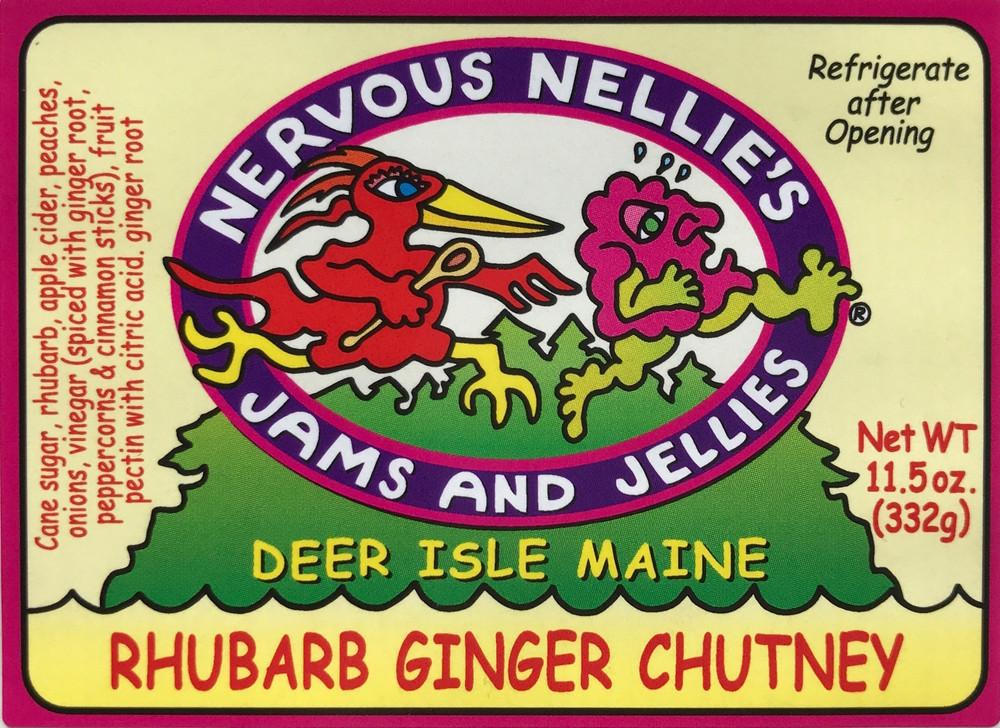 Rhubarb Ginger Chutney