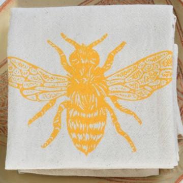 Honeybee in Yellow