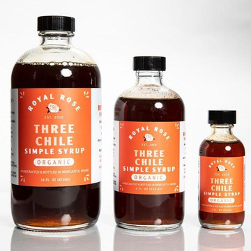 Three Chile Simple Syrup