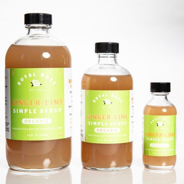 Ginger Lime Simple Syrup