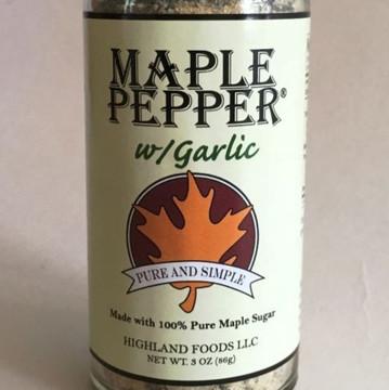 Maple Pepper w/Garlic