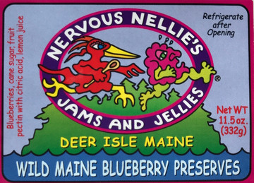 Wild Maine Blueberry Preserves