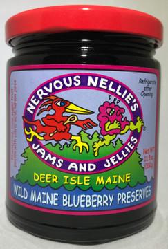 Wild Maine Blueberry Preserves