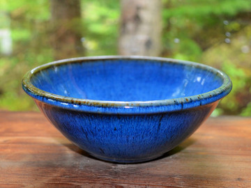 Cereal Bowl in Bird's Beak Blue