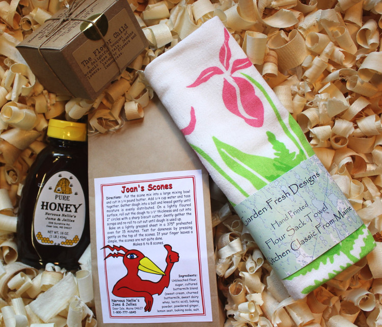 Tea and Flowers Gift Box