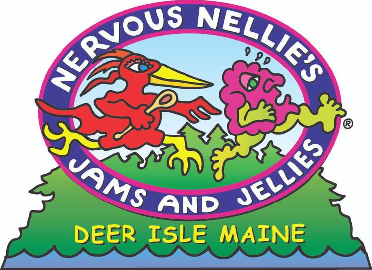 Nervous Nellie's Logo Magnet