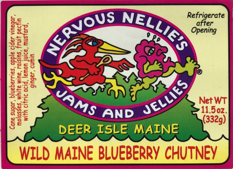 Maine Wild Blueberry Chutney