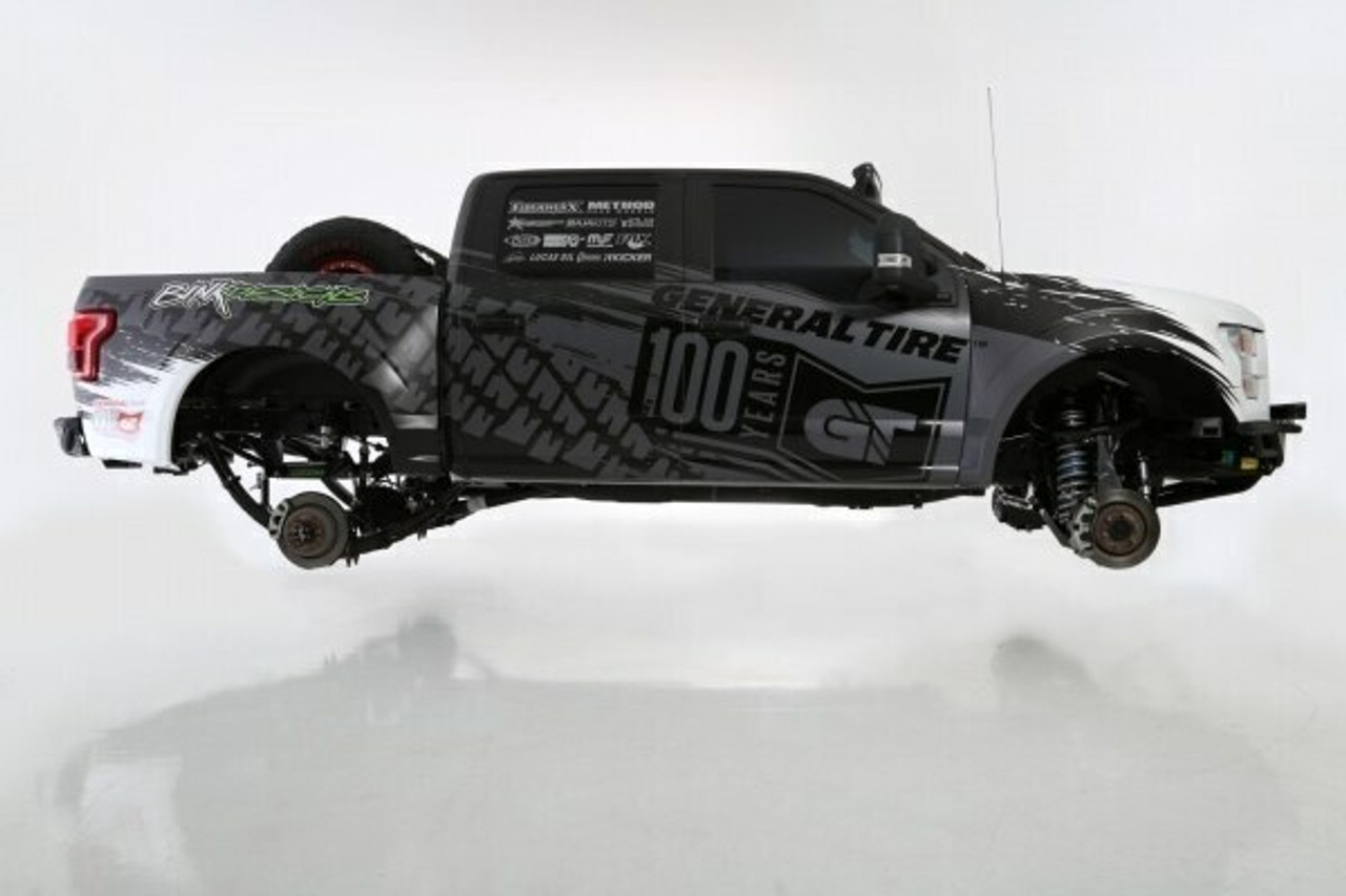 2009-2014 Ford Raptor 4WD Long Travel Cantilever Race Kit - Rear
