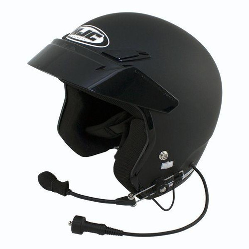 PCI Wired HJC CS-5N Open Face Helmet