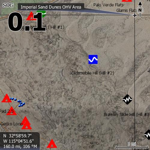 Glamis Lowrance Map