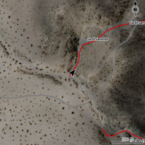 King Of Hammers Lowrance Map