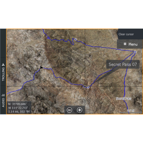 Arizona Lowrance Map V3