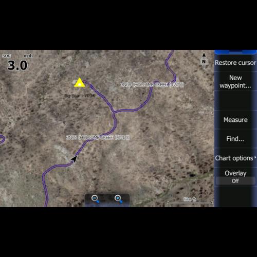 San Bernardino Lowrance Map V3