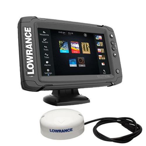 Lowrance Elite-7 TI 2 Touch Screen GPS