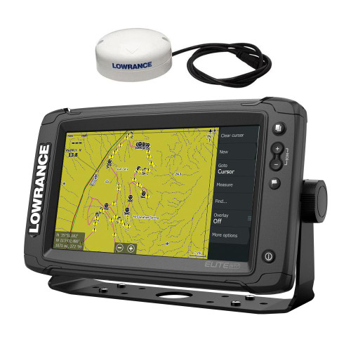 Lowrance Elite-9 TI 2 Touch Screen GPS