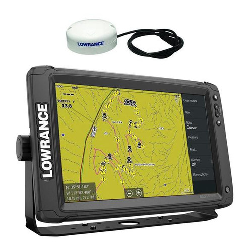 Lowrance Elite-12 TI 2 Touch Screen GPS