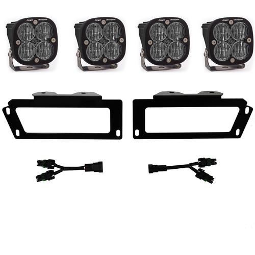Dodge, Ram 2500/3500 (10-18),1500 (09-12) SAE Fog Pocket Kit