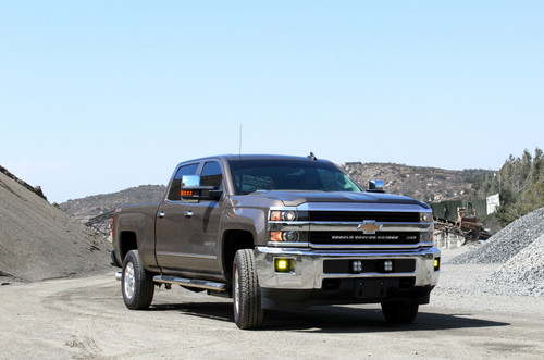 Chevy HD ( 15-19 ) Multi-Light Bumper Kit