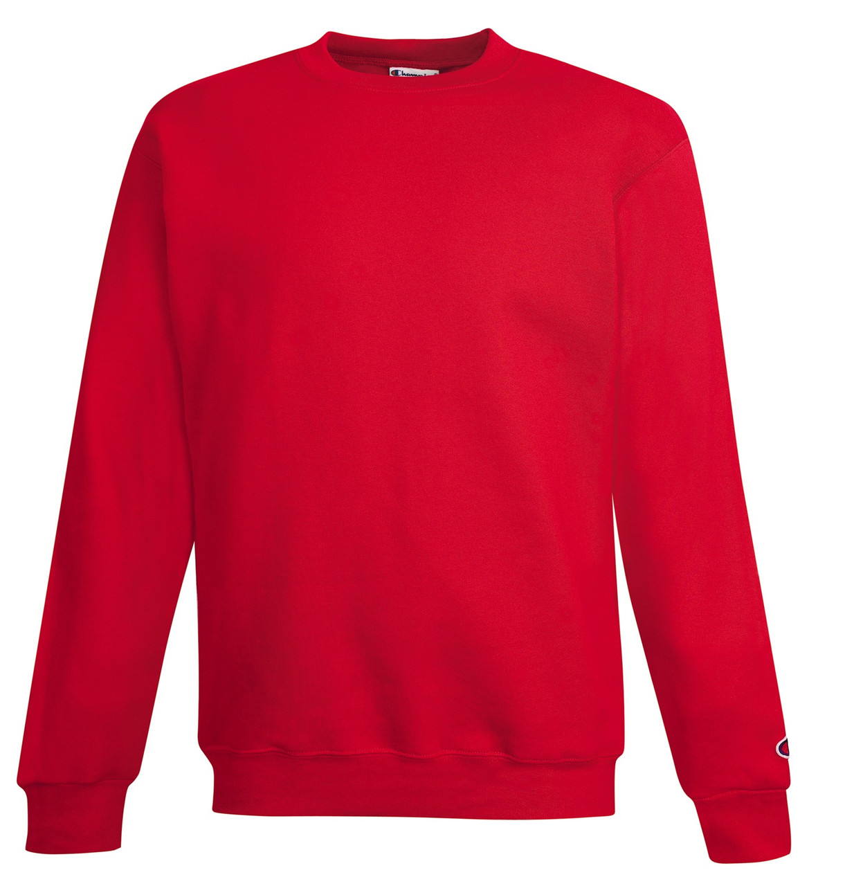 52304fd26b68 Dark Green Front Champion S690 Youth Powerblend Eco Fleece Crew Sweater