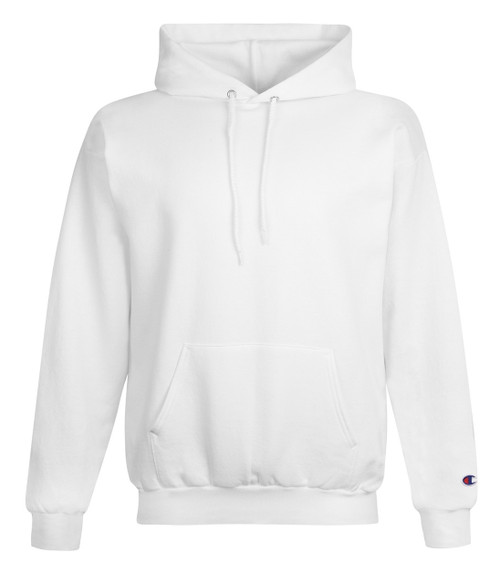 White Front Champion S700 Powerblend Eco Fleece Hoodie | Athleticwear.ca