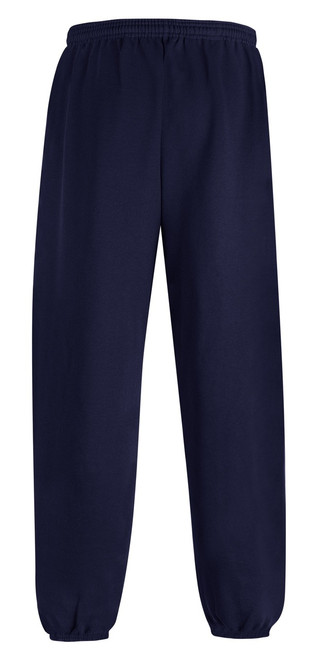 Navy Back Champion P790 Youth Powerblend Eco Fleece Closed Bottom Pant | Athleticwear.ca