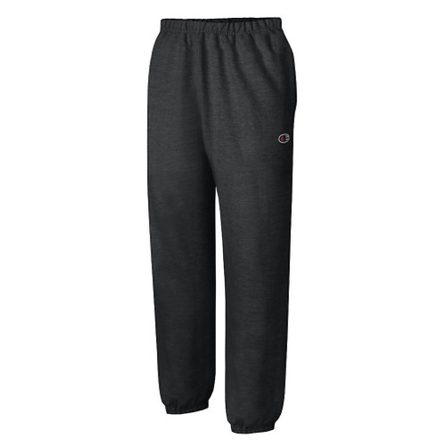 Black Champion RW10 Reverse Weave Pant With Pockets | Athleticwear.ca