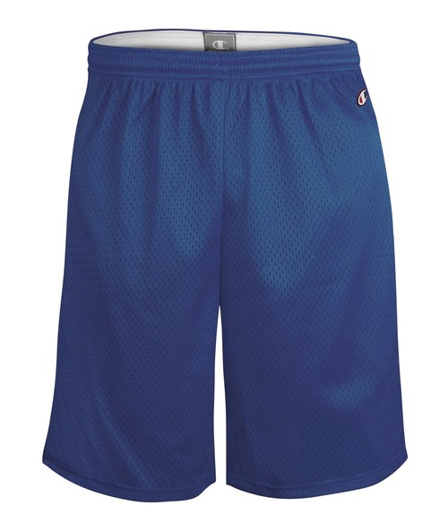 "Athletic Royal Front Champion 9"" 8731 Mesh Shorts 
