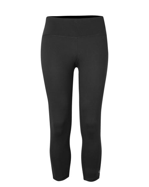 Black Champion B960 Performance Capri Leggings | Athleticwear.ca