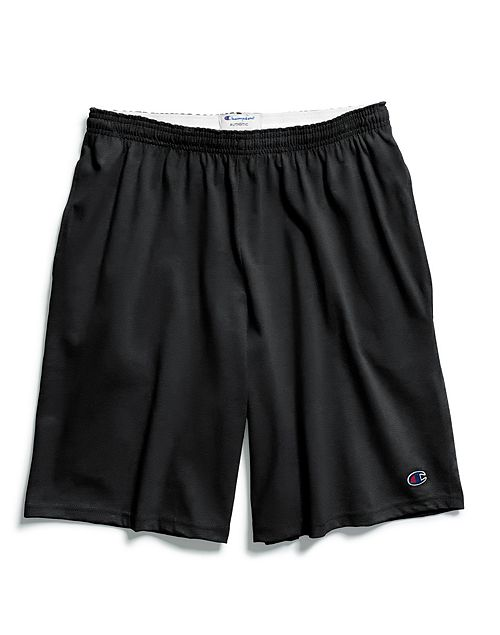 Black - 8180 Adult Cotton Short With Pockets | Athleticwear.ca