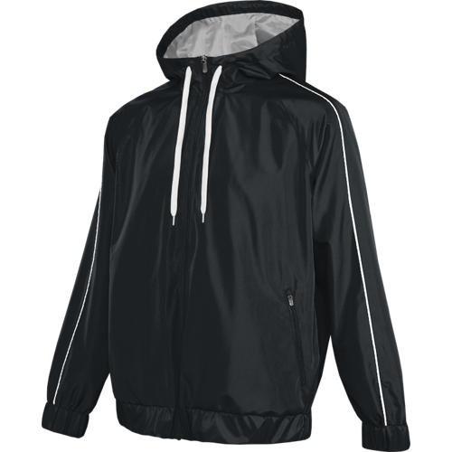 Black - 1714TU Adult Rush Jacket | Athleticwear.ca