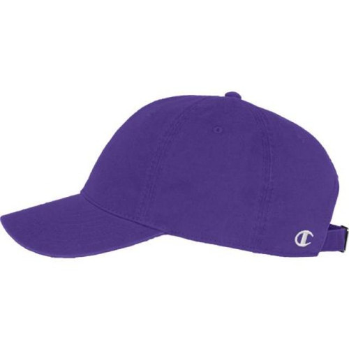 Purple - 4101NN Twill Hat | Athleticwear.ca