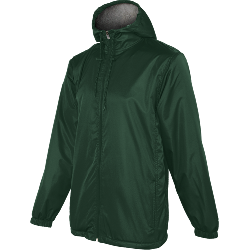Forest - 1554TU Adult Stadium Jacket | Athleticwear.ca