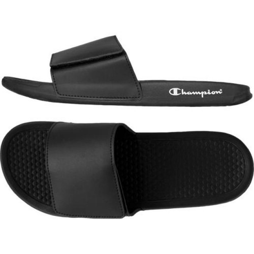 Black - 4203NY Youth Slide Sandal | Athleticwear.ca