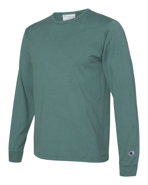Cactus - CD200 Adult Garment Dyed Long Sleeve Tee | Athleticwear.ca