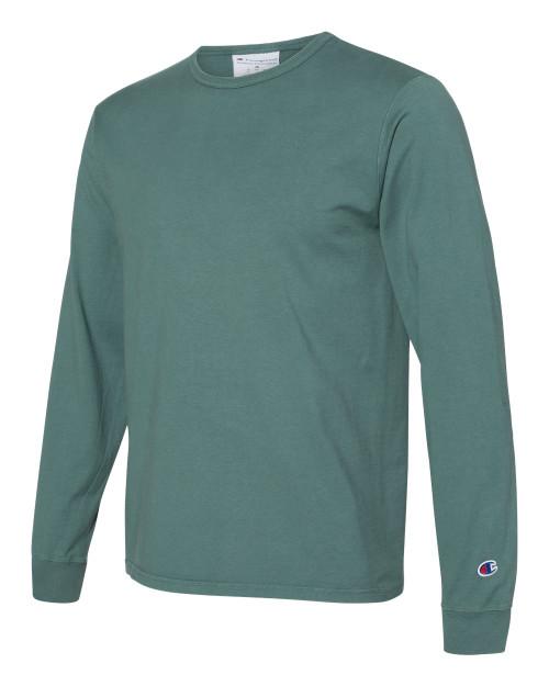 Cactus - CD200 Adult Garment Dyed Long Sleeve Tee | Athleticwear.ca