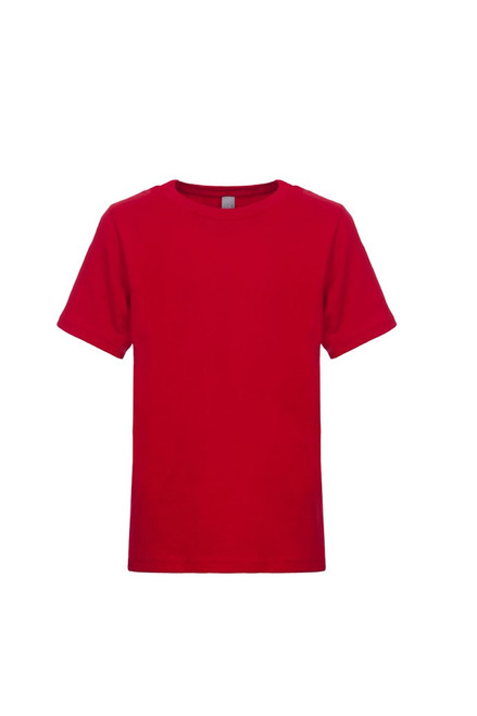 Red - 3310 Next Level Youth Premium Short Sleeve Crew Neck Tee | Athleticwear.ca