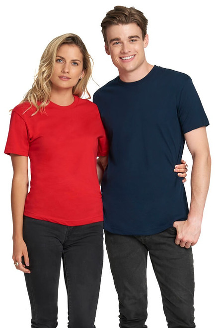 3600 Men's Premium Fitted Short Sleeve Crew Neck Tee | Athleticwear.ca