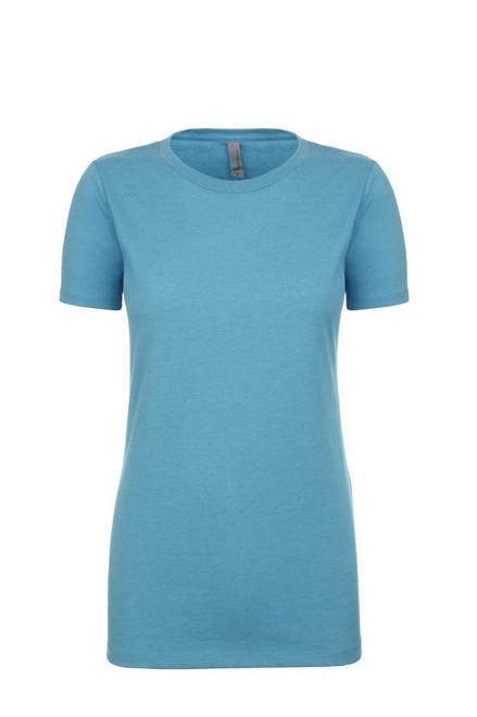Bondi Blue - 6610 Women's CVC Crew Neck Tee | Athleticwear.ca
