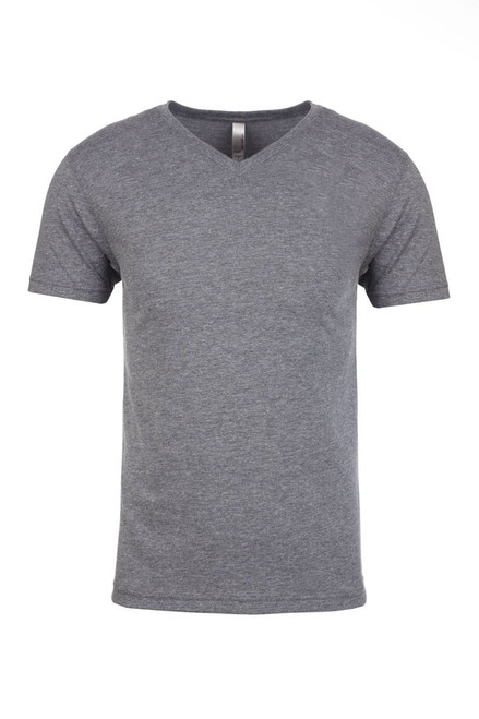 Premium Heather - 6040 Men's Tri-Blend V-Neck Tee | Athleticwear.ca