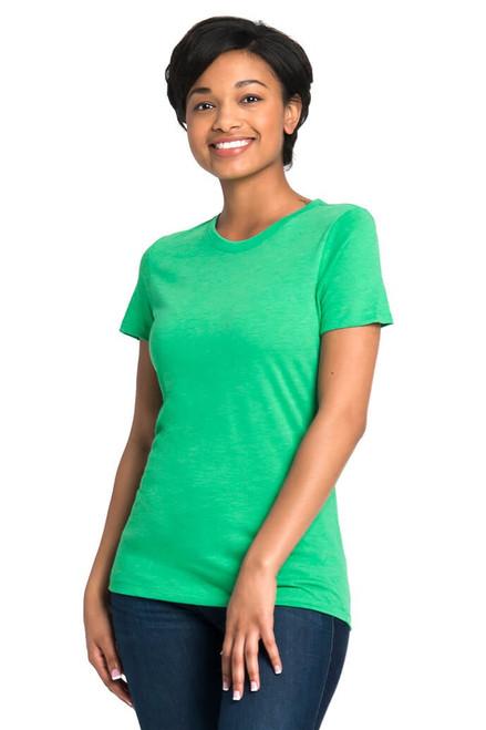 Envy - 6710 Women's Tri-Blend Crew Neck Tee   Athleticwear.ca