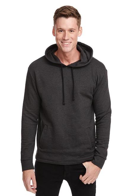 Heather Black - 9300 Unisex PCH Hooded Pullover Sweatshirt   Athleticwear.ca