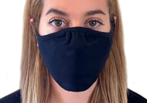 Black - M100 Adult Eco Performance Face Mask (48 Packs) | Athleticwear.ca