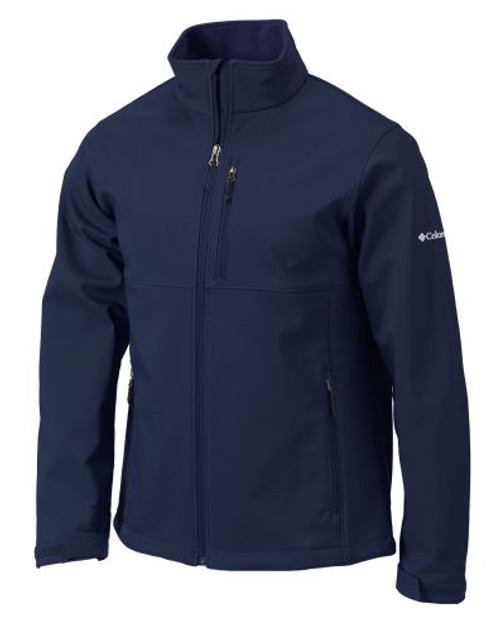 Collegate Navy - C1406MO Adult Ascender Softshell Jacket | Athleticwear.ca