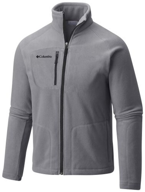 Cool Grey - C2002MF Adult Fast Trek II Full Zip Fleece Jacket | Athleticwear.ca