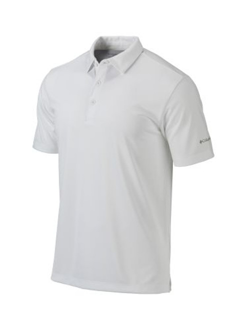 White - 17F87MP Adult Omni-Wick Drive Polo | Athleticwear.ca