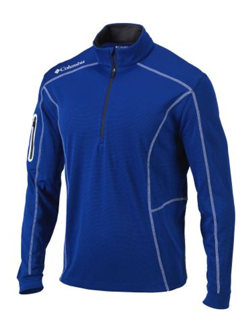 Azul - 16S60ML Adult Omni-Wick Shotgun 1/4 Zip Shirt | Athleticwear.ca